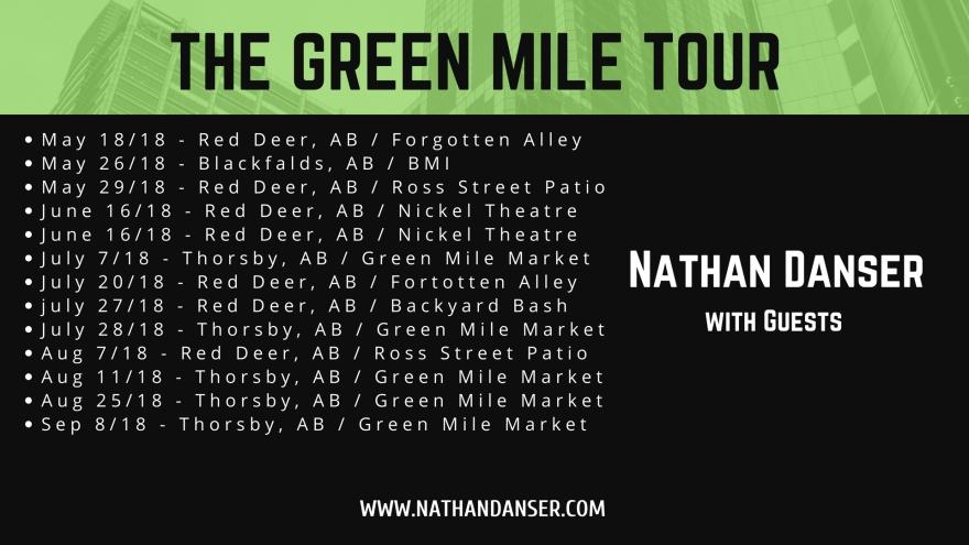 NATHAN DANSERSUMMER '18 TOUR